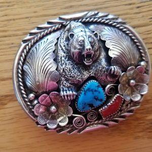 Other - Sterling Silver Belt Buckle